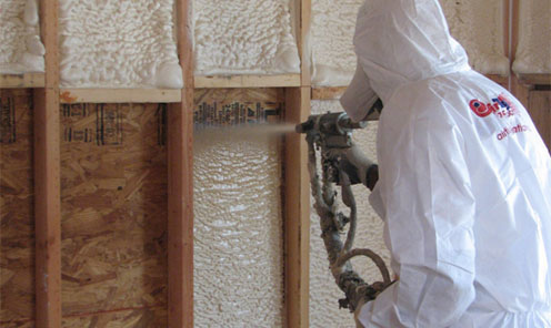 6 Reasons To Use Spray Foam Insulation Peter L Brown Company